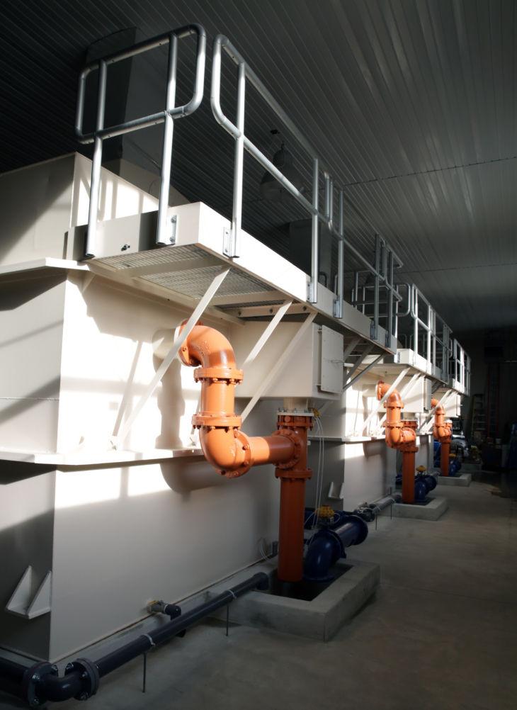 Tonka Water treatment plant